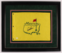 Arnold Palmer Signed Masters 27.5x23.5 Custom Framed Pin Flag Display (JSA LOA) at PristineAuction.com