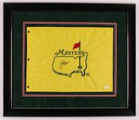 Jack Nicklaus Signed Masters 27.5x23.5 Custom Framed Pin Flag Display (JSA LOA) at PristineAuction.com