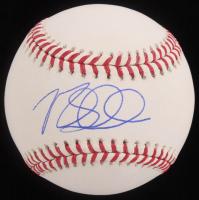Max Schrock Signed OML Baseball (MAB Hologram) at PristineAuction.com