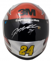 Jeff Gordon Signed 3M NASCAR Racing Full-Size Helmet (Beckett COA & Sports Integrity COA) at PristineAuction.com
