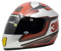 Jeff Gordon Signed 3M NASCAR Racing Full-Size Helmet (Beckett COA & Sports Integrity COA) at PristineAuction.com