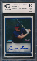 Freddie Freeman 2009 Bowman Chrome Prospects #BCP101 AU (BCCG 10) at PristineAuction.com