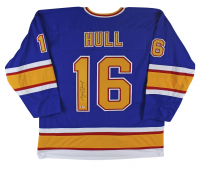 Brett Hull Signed Jersey (Beckett COA) at PristineAuction.com