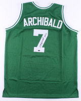 "Nate ""Tiny"" Archibald Signed Jersey Inscribed ""HOF 91"" (Schwartz COA) at PristineAuction.com"