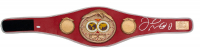 Floyd Mayweather Jr. Signed IBF Full-Size Heavyweight Championship Belt (JSA COA) at PristineAuction.com