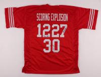 Mike Rozier, Irving Fryar & Turner Gill Signed Jersey (JSA COA) at PristineAuction.com
