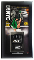 Conor McGregor Signed 13x23 Custom Framed Limited Edition UFC Glove Display (Fanatics Hologram) at PristineAuction.com