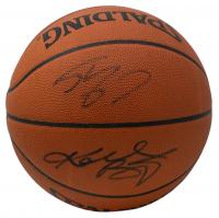 Shaquille O'Neal & Kobe Bryant Signed Basketball (PSA Hologram & Becket COA) at PristineAuction.com