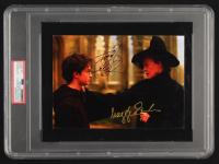 "Daniel Radcliffe & Maggie Smith Signed ""Harry Potter"" 5.75x8.25 Photo (PSA Encapsulated) at PristineAuction.com"
