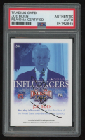 Joe Biden Signed 2016 Decision 2016 #34 Trading Card (PSA Encapsulated) at PristineAuction.com