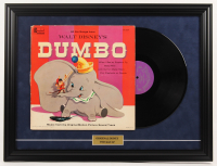 "1959 Vintage Walt Disney's ""Dumbo"" 18.5x24.5 Custom Framed Vinyl Record Display at PristineAuction.com"