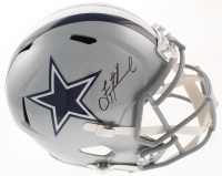 Troy Aikman Signed Cowboys Full-Size Speed Helmet (Beckett COA & Aikman Hologram) at PristineAuction.com