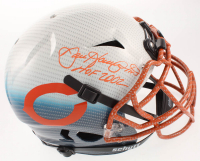 "Dan Hampton Signed Bears Full-Size Authentic On-Field Hydro-Dipped Vengeance Helmet Inscribed ""HOF 2002"" (Beckett COA) at PristineAuction.com"