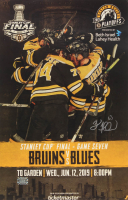 Brad Marchand Signed Bruins 2019 Stanley Cup 11x17 Game Poster (Marchand COA) at PristineAuction.com