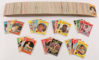 1959 Topps Complete Set of (572) Baseball Cards with #514 Bob Gibson RC, #10 Mickey Mantle, #478 Roberto Clemente, #163 Sandy Koufax, #563 Willie Mays at PristineAuction.com