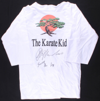 "Ralph Macchio Signed ""Karate Kid"" Gi Jacket Inscribed ""Sweep The Leg"" (JSA COA) at PristineAuction.com"