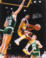 Magic Johnson Signed Lakers 16x20 Photo (JSA COA) at PristineAuction.com