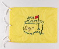 Phil Mickelson Signed 2006 Masters Pin Flag (PSA LOA) at PristineAuction.com