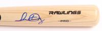 Isan Diaz Signed Rawlings Pro Baseball Bat (SidsGraphs COA) at PristineAuction.com