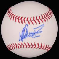 Martin Perez SIgned OML Baseball (Sids Graphs COA) at PristineAuction.com