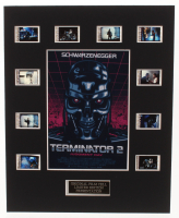 """""""Terminator 2: Judgment Day"""" LE 8x10 Custom Matted Original Film / Movie Cell Display at PristineAuction.com"""