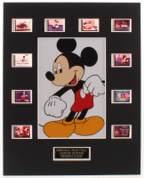 """""""Mickey Mouse"""" LE 8x10 Custom Matted Original Film / Movie Cell Display at PristineAuction.com"""