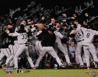 White Sox 2005 World Series Champs 16x20 Photo Team-Signed by (12) with Ozzie Guillen, Dustin Hermanson, Freddy Garcia, Jose Contreras, Brian Anderson (MAB Hologram) at PristineAuction.com