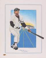 Reggie Jackson Yankees 16x20 Print at PristineAuction.com