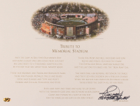 """Rick Dempsey Signed 14x18 Print Inscribed """"1983 World Series MVP"""" (MAB Hologram) at PristineAuction.com"""