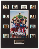 """""""Avengers: Age of Ultron"""" LE 8x10 Custom Matted Original Film / Movie Cell Display at PristineAuction.com"""