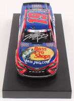 Martin Truex Jr. Signed 2019 NASCAR #19 Bass Pro Shops Patriotic - Charlotte Win - Coca-Cola 600 - Raced Version - 1:24 Premium Action Diecast Car (PA COA) at PristineAuction.com