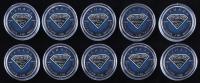 "Lot of (10) Consecutive LE 2016 ""Superman"" Elizabeth II $5 Five Dollar Silver Canada Coins #70-79 at PristineAuction.com"