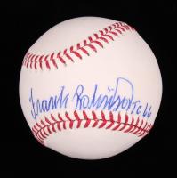 Frank Robinson Signed OML Baseball (Steiner COA) at PristineAuction.com
