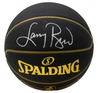 Larry Bird Signed NBA Basketball (Beckett COA) at PristineAuction.com