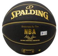 Larry Bird Signed NBA Basketball (Beckett COA) at PristineAuction.com