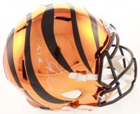 A. J. Green Signed Bengals Full-Size Chrome Speed Helmet (JSA COA) at PristineAuction.com