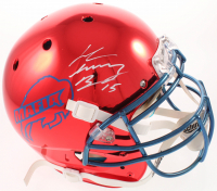 "John ""Smokey"" Brown Signed Bills Full-Size Authentic On-Field Chrome Helmet (JSA COA) at PristineAuction.com"