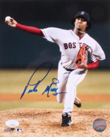 Pedro Martinez Signed Red Sox 8x10 Photo (JSA COA) at PristineAuction.com