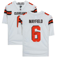 Baker Mayfield Signed Browns Jersey (Fanatics Hologram) at PristineAuction.com