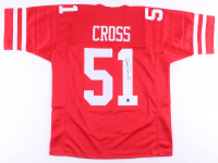 Randy Cross Signed Jersey (Tennzone COA) at PristineAuction.com