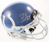 Darius Leonard Signed Colts Full-Size Authentic On-Field Hydro-Dipped Helmet (JSA COA) at PristineAuction.com