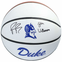 Zion Williamson & RJ Barrett Signed Duke Blue Devils Basketball (Fanatics Hologram) at PristineAuction.com