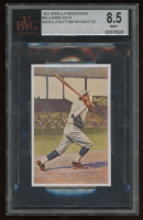 Babe Ruth 1932 Sanella Margarine #83B Type 2 (BVG 8.5) at PristineAuction.com