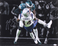 Malcolm Jenkins Signed Eagles Super Bowl LII 16x20 Photo (JSA COA) at PristineAuction.com