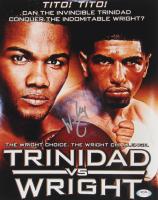 """Winky Wright Signed """"Trinidad vs. Wright"""" 11x14 Photo (PSA COA) at PristineAuction.com"""