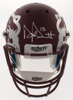 Dak Prescott Signed Mississippi State Bulldogs Matte Maroon Full-Size Helmet (JSA COA & Prescott Hologram) at PristineAuction.com