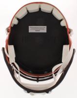 "Baker Mayfield Signed Browns Full-Size Speed Helmet Inscribed ""'18 #1 Pick"" (JSA COA) at PristineAuction.com"