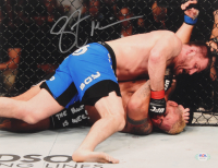 "Stipe Miocic Signed UFC 11x14 Photo Inscribed ""The Hunt Is Over!"" (PSA COA) at PristineAuction.com"