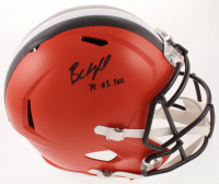 "Baker Mayfield Signed Browns Full-Size Speed Helmet Inscribed ""'18 #1 Pick"" (JSA COA) at PristineAuction.com"