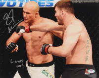 """Stipe Miocic Signed UFC 11x14 Photo Inscribed """"Lights Out!"""" (PSA COA) at PristineAuction.com"""